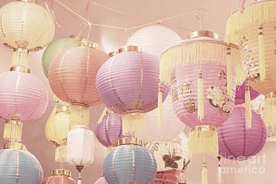 Chinese Lanterns Print by Cindy Garber Iverson