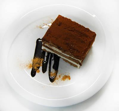 Chocolat Cake Print by Gina Dsgn