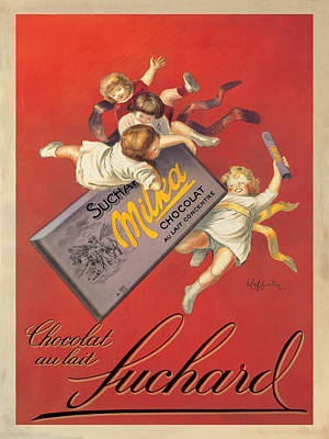 Candy Painting - Chocolat Suchard by Leonetto Cappiello