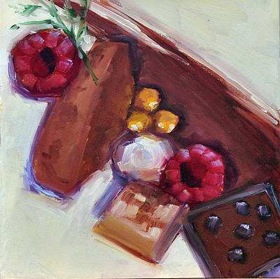 Painting - Chocolate Dream by Mary Byrom