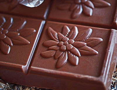 Chocoholic Photograph - Chocolate Flower  by Rona Black