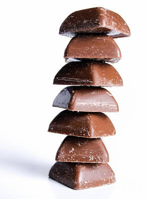 Chocoholic Photograph - Chocolate Tower by Sinisa Botas