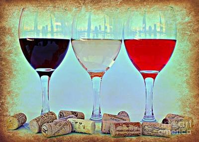 Wine Photograph - Choice by Clare Bevan