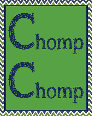 Chomp Chomp Print by Jaime Friedman