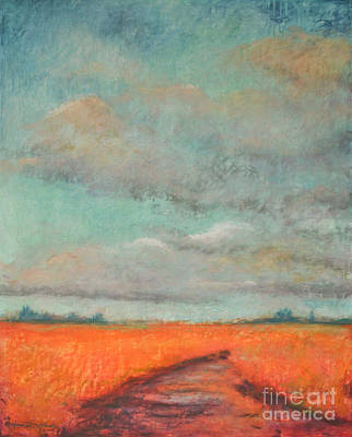 Jana Painting - Choosing The Road Less Traveled by Jana R  Johnson