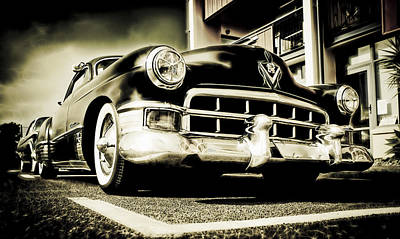 Chopped Cadillac Coupe Print by motography aka Phil Clark