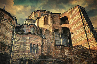 Chora Church Print by Taylan Soyturk