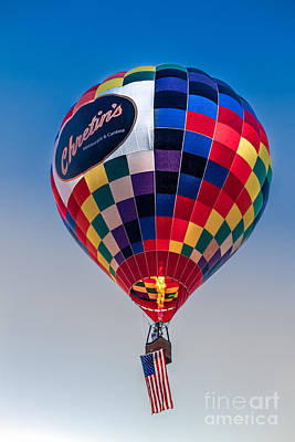 Chretin's Balloon Print by Robert Bales