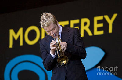Color Transparency Photograph - Chris Botti Plays Trumpet by Craig Lovell