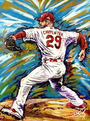 Chris Carpenter Original by Ian Sikes