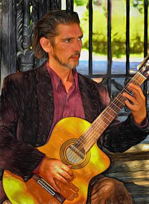 Chris Craig - New Orleans Musician 2 Print by Steve Harrington