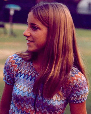 Chris Evert Print by Retro Images Archive