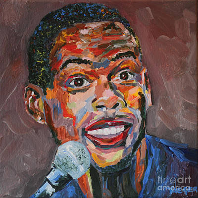 Chris Rock Portrait Original by Robert Yaeger