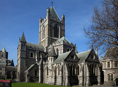 Old Christ Church Photograph - Christ Church Cathedral, Rebuilt by Panoramic Images