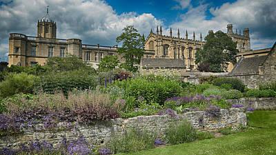 Garden Flowers Photograph - Christ Church College Gardens by Stephen Stookey