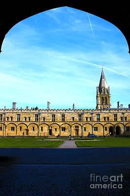 Christ Church College Oxford Print by Terri Waters