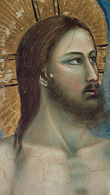 Baptism Painting - Christ by Giotto di Bondone