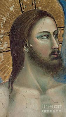 Christ Print by Giotto di Bondone