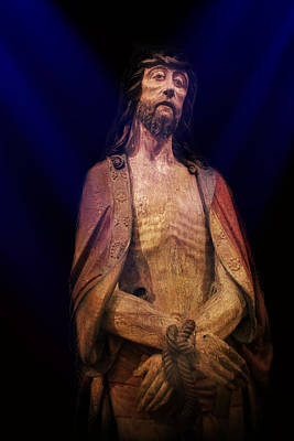 Christ In Bonds Print by Carlos Diaz
