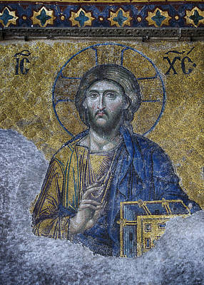 Iconography Photograph - Christ Pantocrator IIi by Stephen Stookey