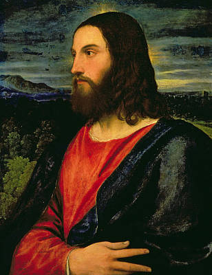 Redeemer Painting - Christ The Redeemer by Titian