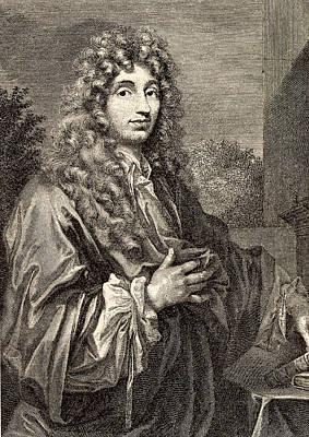 Christiaan Huyghens Print by Universal History Archive/uig
