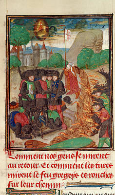 Christian Army Saved By Prayer Print by British Library