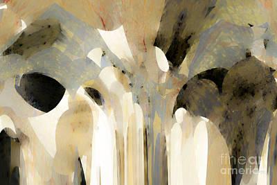 Christian Art- Angel Speaking To Jacob. Genesis 31 11 Print by Mark Lawrence