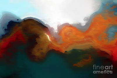 With Scripture Painting - Christian Art- I Will Not Fear. Psalm 56 4-painting With Light by Mark Lawrence