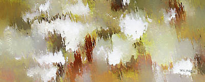 Modern Painting - Christian Art- Patience. Luke 21 19  by Mark Lawrence