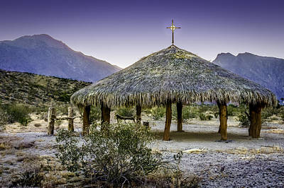 Photograph - Christian Thatched Hut by Karen Stephenson