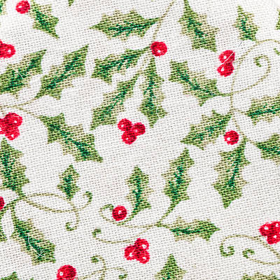 Christmas Background Print by Tom Gowanlock