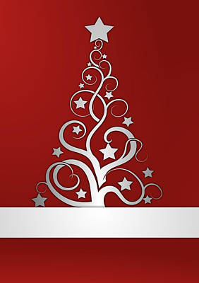 Christmas Card 23 Print by Martin Capek