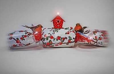 Christmas Digital Art - Christmas Cracker by Charles Stuart