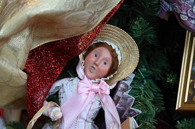 Christmas Display - Mt Vernon - 01133 Print by DC Photographer