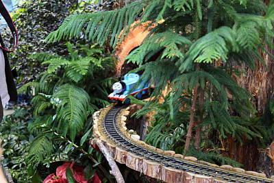 Christmas Display - Us Botanic Garden - 011326 Print by DC Photographer