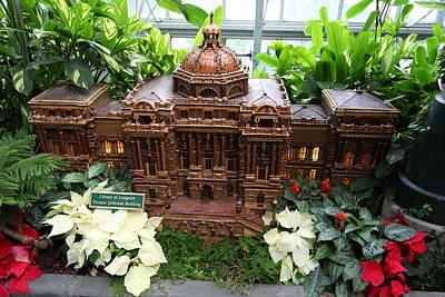 Christmas Photograph - Christmas Display - Us Botanic Garden - 011347 by DC Photographer