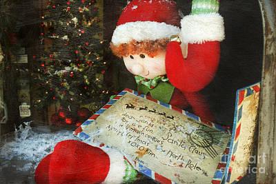 Elf Photograph - Christmas Elf by Darren Fisher