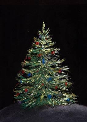 Christmas Eve Print by Anastasiya Malakhova