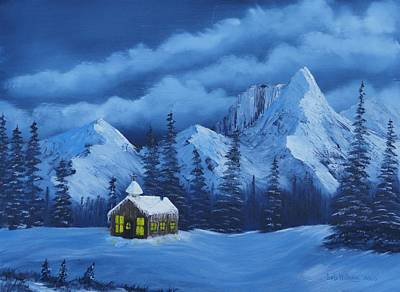 Bob Ross Mixed Media - Christmas Eve by Bob Williams