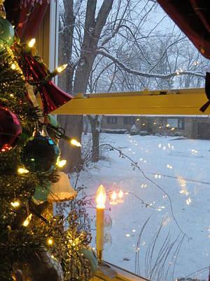 Christmas Eve Snowfall Original by Elisabeth Ann