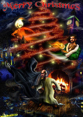 Christmas Cards Digital Art - Christmas Greeting Card by Alessandro Della Pietra
