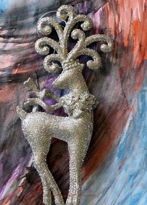 Ma. Mass Painting - Christmas Greetings Card by Sonali Gangane