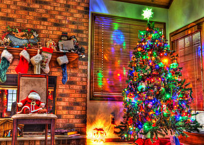 Winter Solstice Photograph - Christmas In Hdr by Tim Buisman