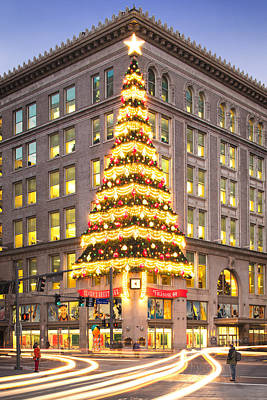 Allegheny County Photograph - Christmas In Pittsburgh  by Emmanuel Panagiotakis
