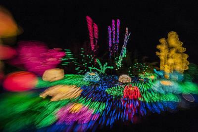 Blur Photograph - Christmas Is A Blur by Scott Campbell