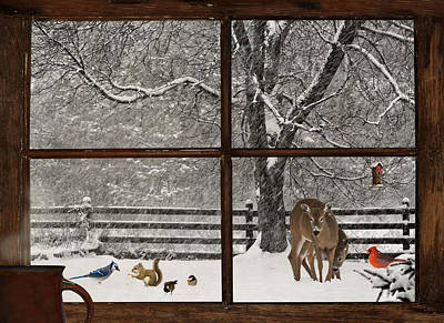Christmas. Print by Kelly Nelson