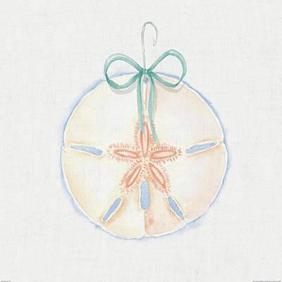 Shell Pastel Painting - Christmas On The Coast Vi by Elyse Deneige