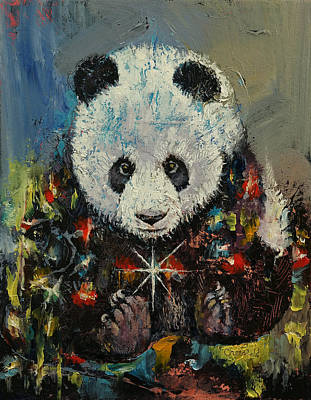 Magicians Painting - Christmas by Michael Creese