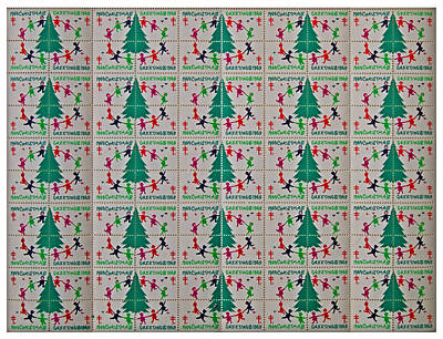 Christmas Seals 1969 Print by Rich Walter